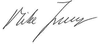 Mike Ferraro signature